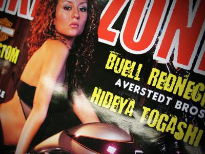 スペインの雑誌BIKER ZONEでHIDEYA TOGASHI特集