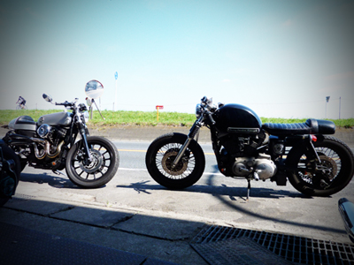 HDM Cafe Racers