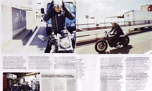 Italian Magazine 'Riders'