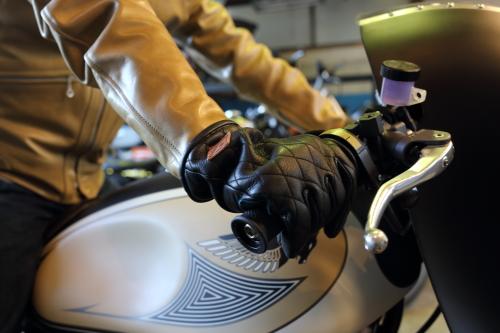 RUDE GALLERY BLACK REBEL×HIDE MOTORCYCLE