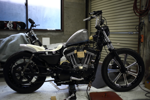 Now At Work Sportster